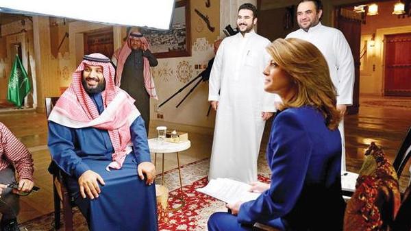 """مذيعة """"سي بي إس"""" تكشف كواليس لم تنشر خلال مقابلة الأمير محمد بن سلمان"""