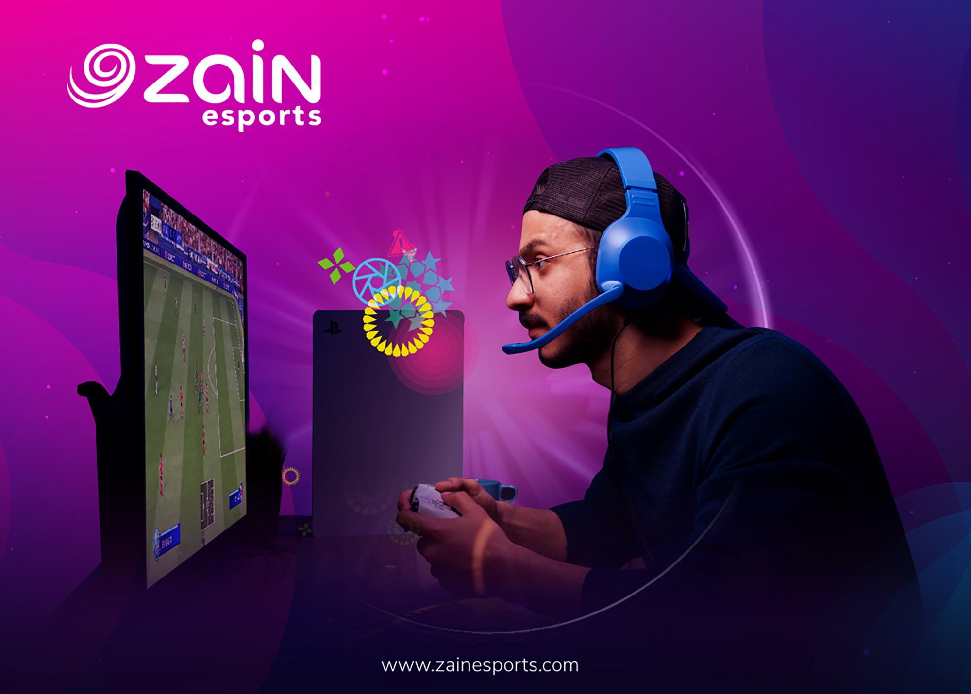 """""""زين"""" تطلق علامتها التجارية Zain esports  كقوة إقليمية جديدة في الرياضة الإلكترونية"""