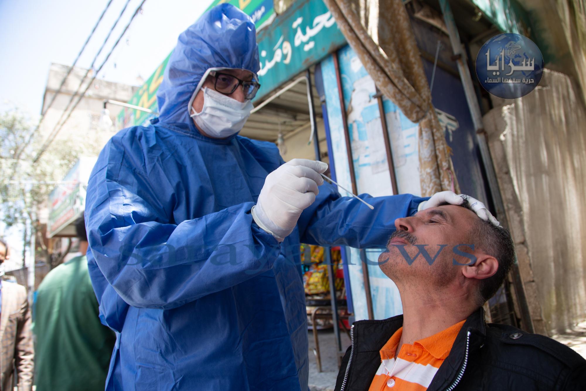 صحة عجلون تجري 2214 عينة عشوائية منذ بداية ازمة فيروس كورونا