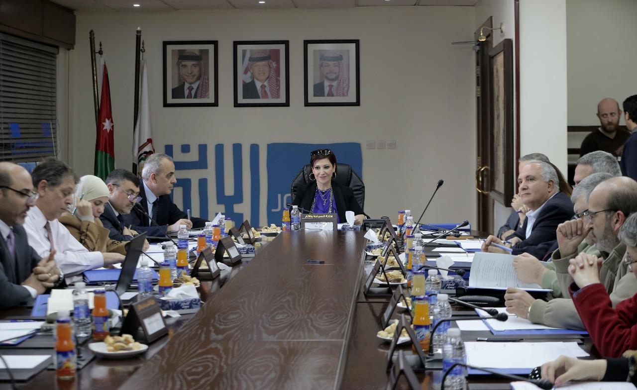 اللجنة الوطنية لحماية التراث تشكل فرق عمل وتضع خطة استراتيجية