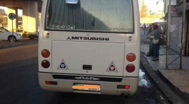 ضبط باص خط جرش يعمل في عمان ويحمل 47 راكباً من طلبة الجامعات