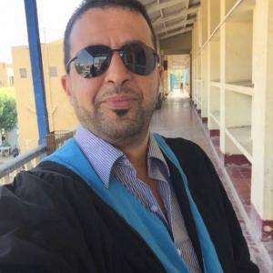 الدكتور خلف محمد سعود القاضي مبارك الدكتوراة