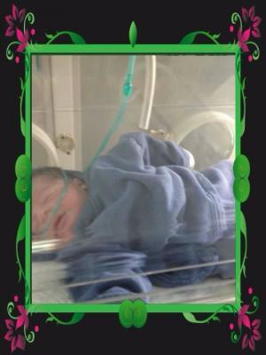 تهنئة من أحمد الحراحشه الى السيد / عمرو الرحيمي بقدوم المولود الأول .