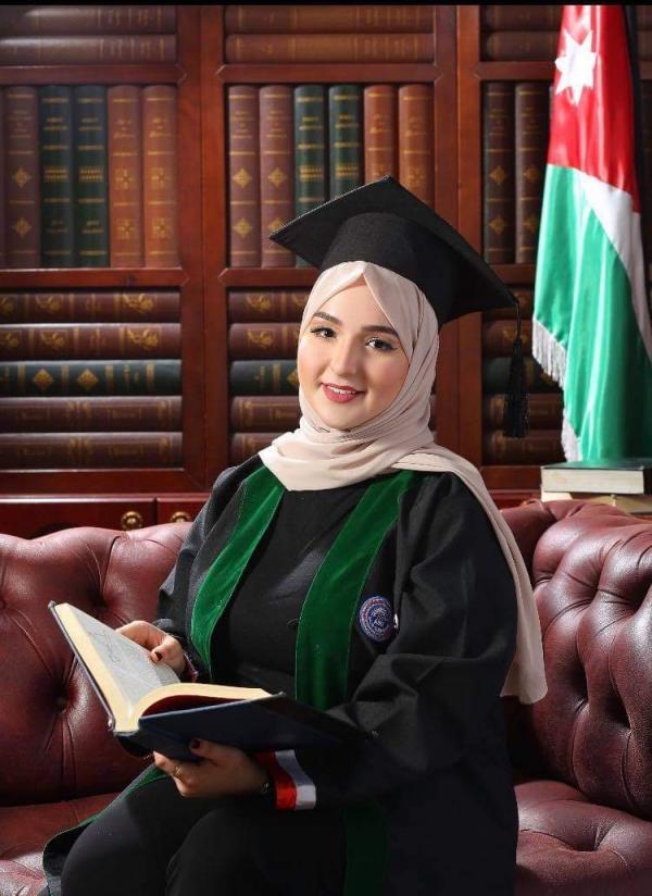 غدير حسين حجاوي  ..  مبارك التخرج