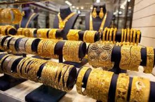 الذهب يرتفع 40 قرشاً