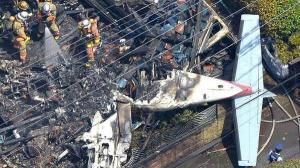 تحطم طائرة سياحية فوق منطقة سكنية في طوكيو