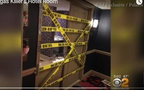 بالفيديو ..  المشاهد الاولى من غرفة مُطلق النار في لاس فيغاس التي بدت كثكنة عسكرية