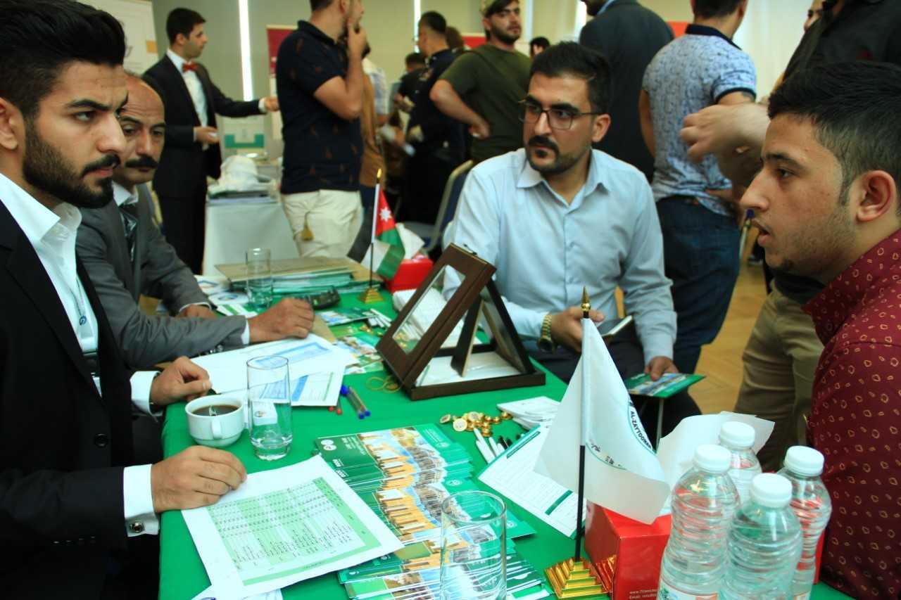 """""""الزيتونة"""" تشارك في معرض الجامعات التركية والقبرصية والأردنية في اربيل والسليمانية"""