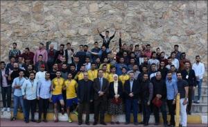 """ختام فعاليات بطولة الصيدلة الكروية """"الكرة تجمعنا"""" لطلبة جامعة عمان الأهلية"""