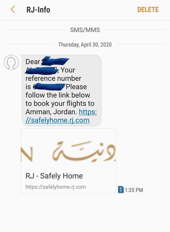 """ذوو طلبة أردنيين لـ""""سرايا"""": استكملنا إجراءات الدفع لإعادة أبنائنا من الخارج و الملكية لم ترسل لنا تأكيد الحجز"""