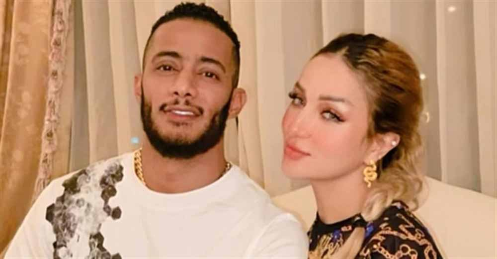 صورة تكشف حقيقة انفصال محمد رمضان عن زوجته
