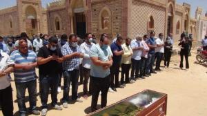 غياب لافت للفنانين خلال جنازة حسن حسني- صور