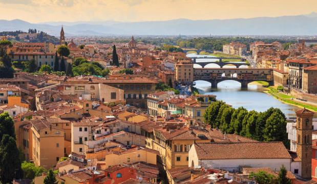 بالصور .. زيارة افتراضية إلى فلورنسا