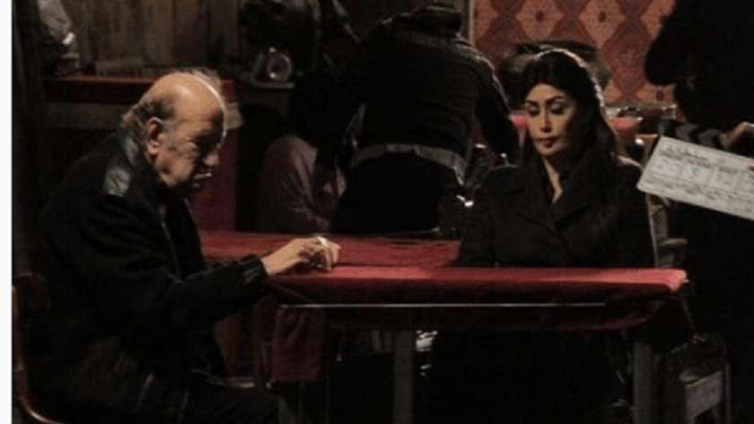 """غادة عبدالرازق: تشرفت بمشاركة حسن حسني في آخر أعماله """"سلطانة المعز"""""""