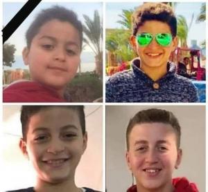 فاجعة طبيب مصري ..  تفحّم أبنائه الأربعة ووالدته بحريق