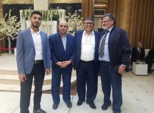 حفل بهيج للدكتور عامر نجل الاعلامي حسن سعيد صفيره  .. صور
