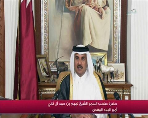 أمير قطر : ملتزمون بالأمن القومي العربي ومساندة الشعب الفلسطيني