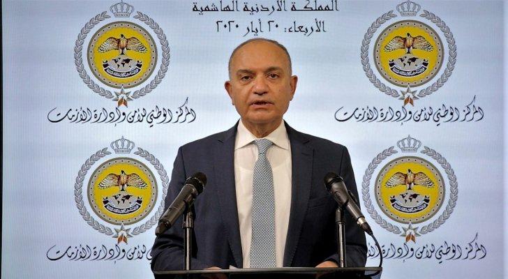 العضايلة: مجلس الوزراء أقر مشروع قانون الجودة وحماية المستهلك لسنة 2020