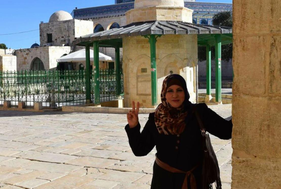 شاهد بالصور  ..  الاحتلال يعتقل سيّدة ونجلها من مدينة القدس المحتلة