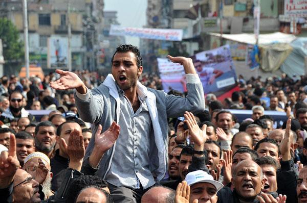 مدينة بور سعيد المصرية تعلن العصيان المدني