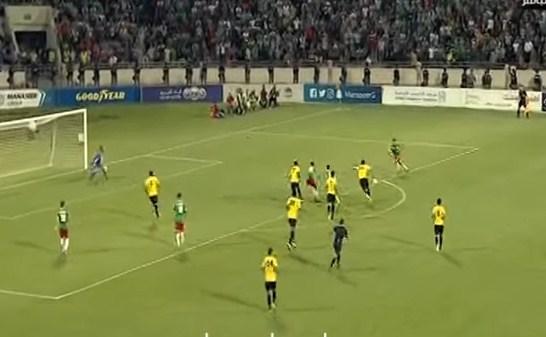 بالفيديو  ..  شاهد اهداف مباراة الوحدات و الحسين اربد
