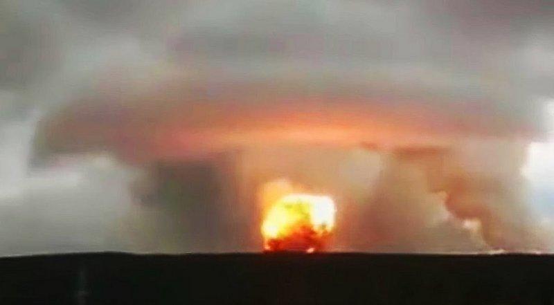 """قصة الانفجار الغامض في روسيا ..  شاهد فيديو """"النووي"""" الذي أفزع العالم"""