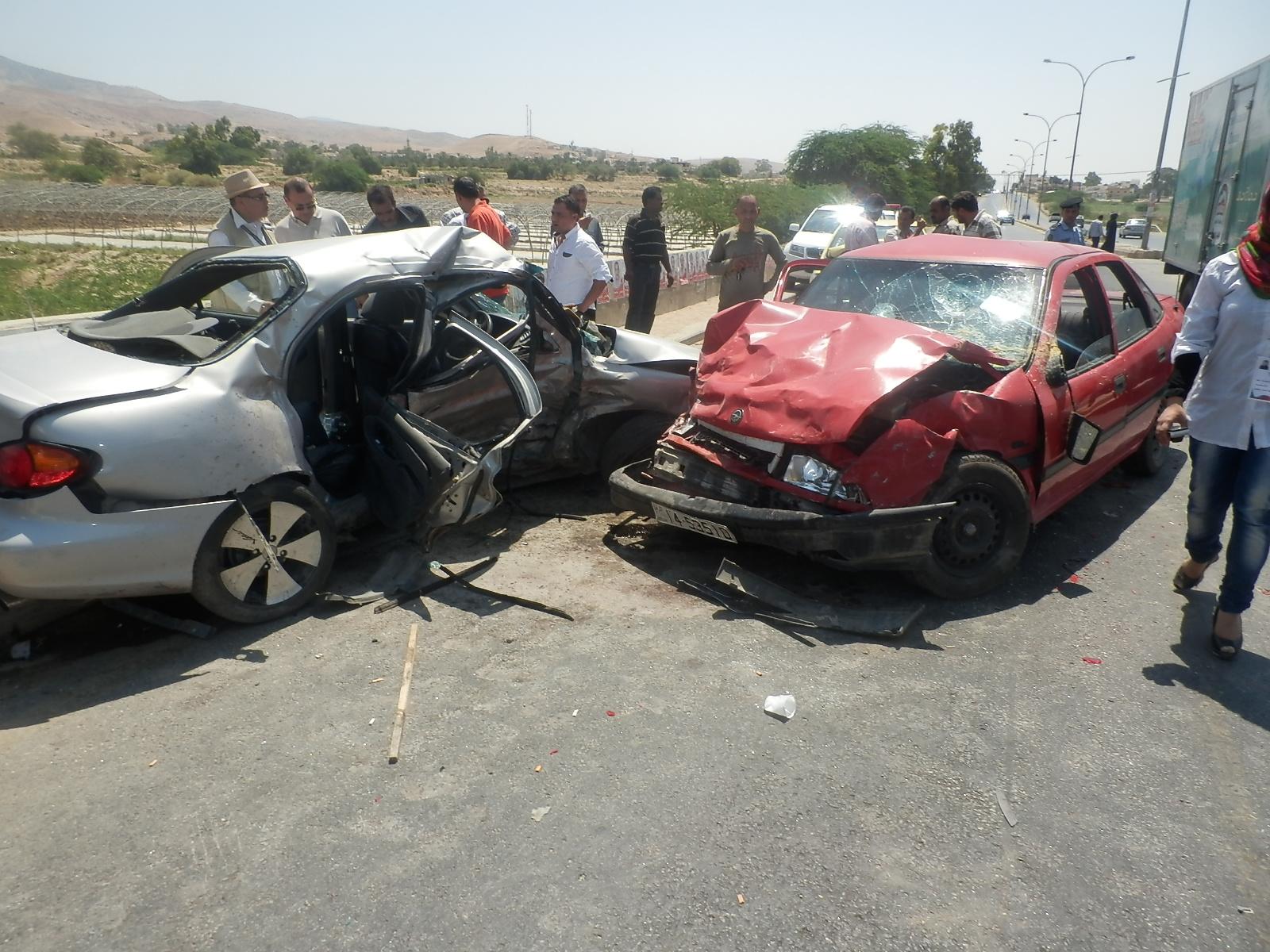 العقبة: وفاة عشريني بحادث تصادم