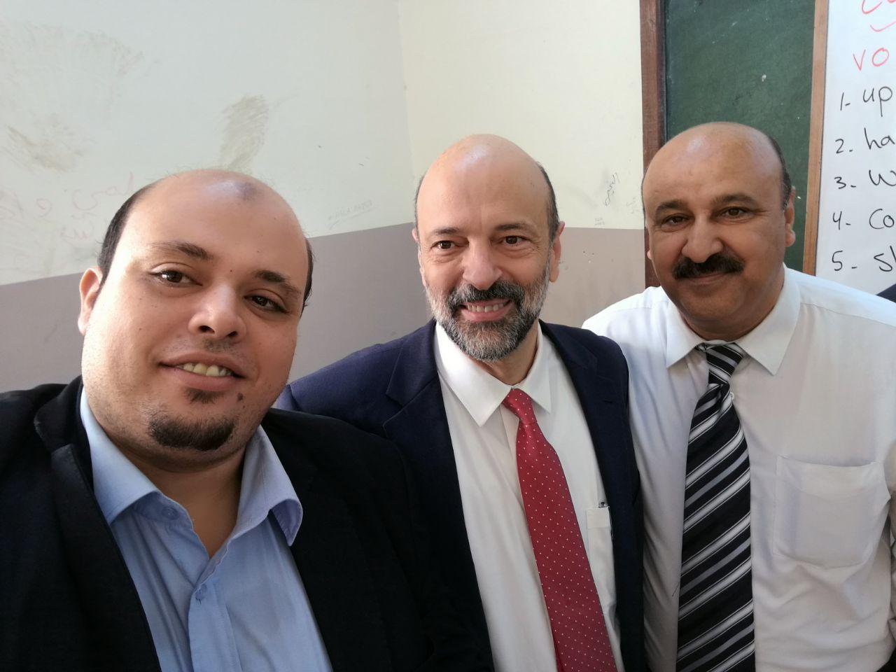 أنس وهدان و محمد يوسف مبارك التكريم