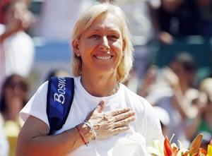 لاعبة التنس مارتينا نافاراتيلوفا تتزوج صديقتها.. صور