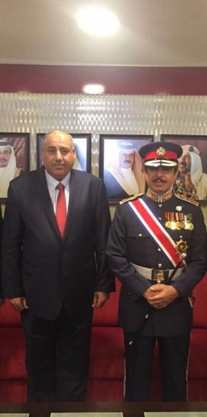تخرج  الملازم محمد نجل النائب مازن القاضي برتبة ملازم  ..  مبروك
