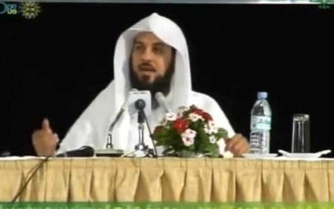 """بالفيديو  ..  الشيخ العريفي  """"حسن التعامل"""""""