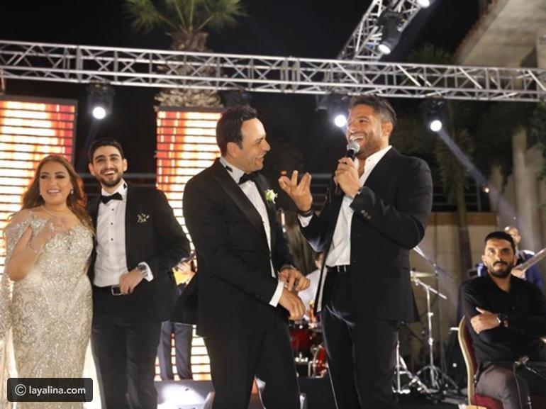 بالصور  ..  نجوم الفن يحييون زفاف ابن مصطفى قمر و حضور ملفت لنجوم التسعينيات