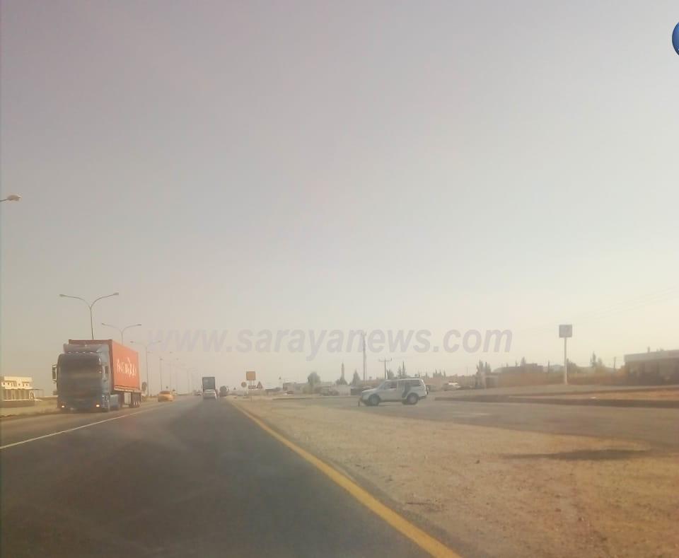 تحويلات الطريق الصحراوي تلقي بظلال الخوف على مستخدميه