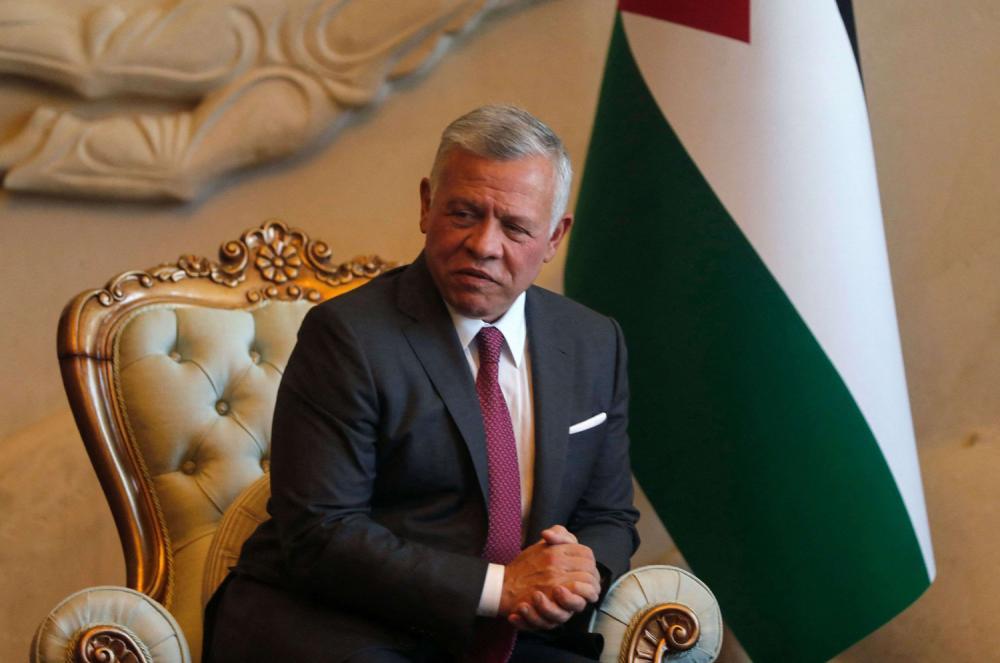 الملك يعزي الرئيس العراقي بضحايا الاعتداء الارهابي بمدينة الصدر