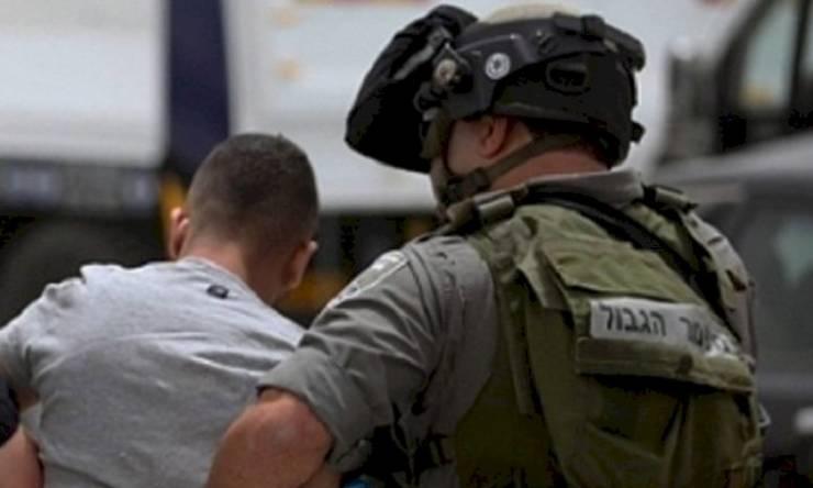 قوات الاحتلال تعتقل فتى من قلقيلية