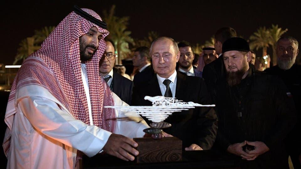 عمرها 30 ألف سنة ..  شاهد ..  ماذا أهدى بوتين لـ الامير محمد سلمان؟