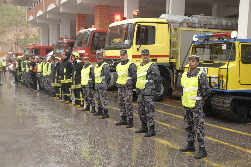 الدفاع المدني يحذر الاردنيين من المنخفض الجوي القادم  ..  تفاصيل