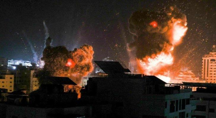 ارتفاع محصلة عدوان الاحتلال الاسرائيلي على غزة إلى 217 شهيدًا