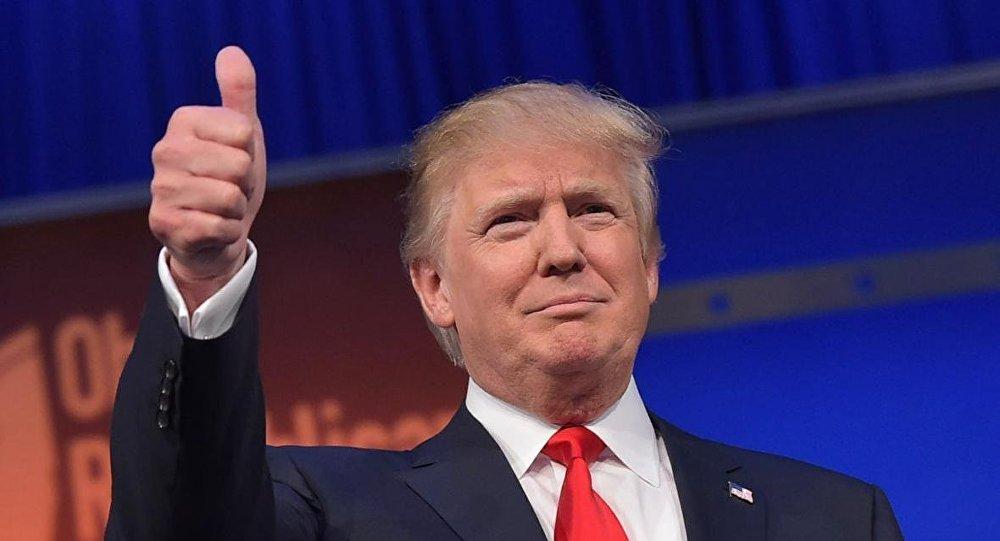 ترامب يلمح لترشحه لدورة رئاسية ثانية بعد اقل من اسبوع على تنصيبه رئيساً
