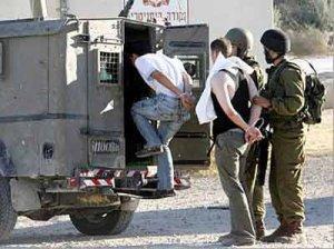 إصابة شاب واعتقال اثنين جنوب نابلس