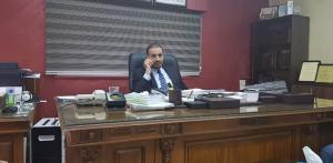 المحامي الدكتور ربيع العمور يهنئ عطوفة الدكتور عبدالله الدعجة بمناسبة المنصب الجديد
