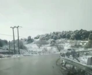 بالفيديو  ..  جولة تحت زخات كثيفة من الثلج وبين جبال تلتحف البياض في محافظة إربد وأطراف عجلون