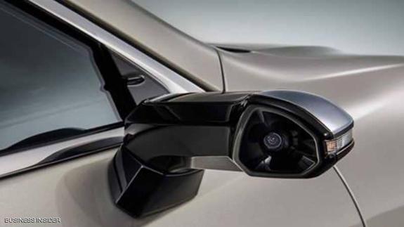 بالفيديو ..  تعرف على أول سيارة تستبدل المرايا بكاميرات