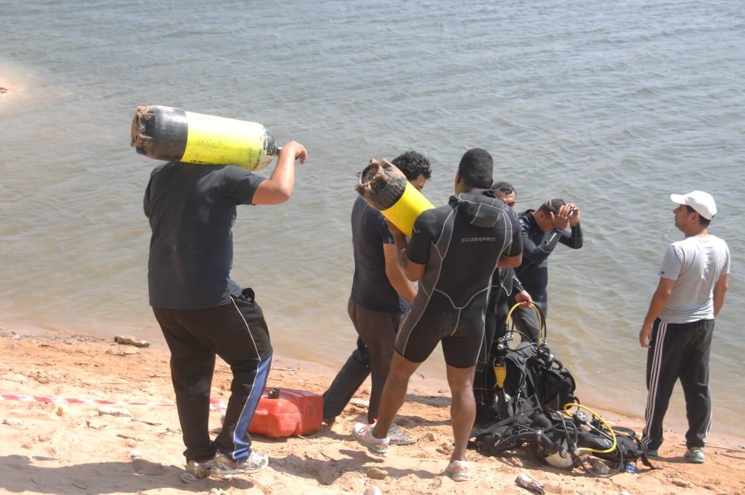 الدفاع المدني يعثر على جثة الغريق داخل مياه سد الملك طلال