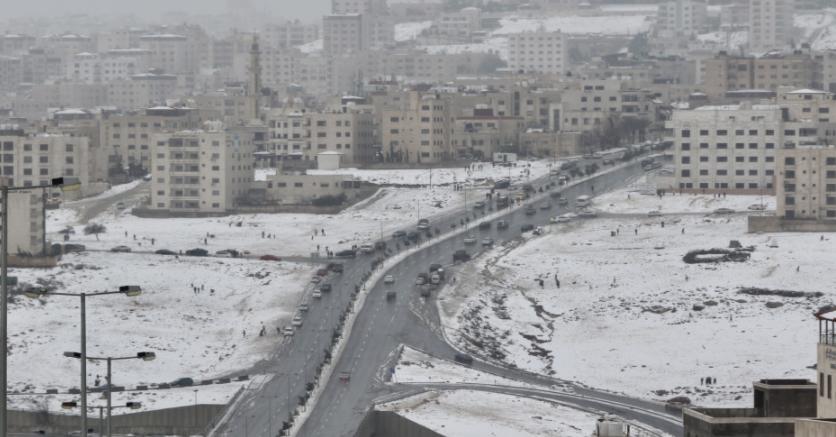 أجواء باردة نسبياً الإثنين ومنخفض جوي يؤثر على الأردن الثلاثاء و هذه تفاصيله