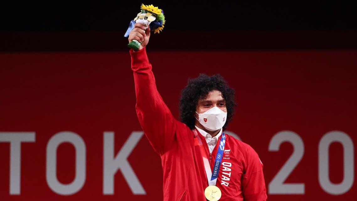 طوكيو 2020  ..  فارس حسونة يمنح قطر أول ذهبية أولمبية في تاريخها