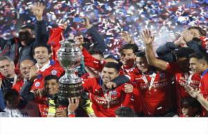 احتفالات تشيلي باللقب القاري تمتد من الاستاد الوطني للقصر الرئاسي