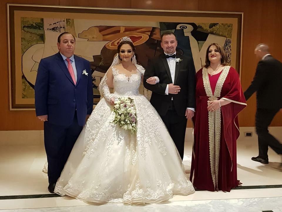 """مبارك لعائلة الخشمان زفاف """"زايد و فريال"""""""
