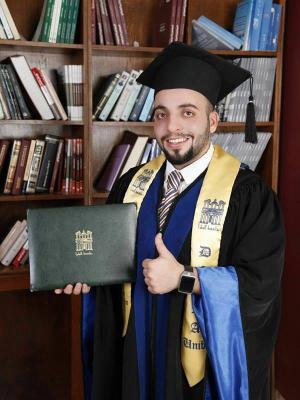 نايف العدوان .. مبارك التخرج