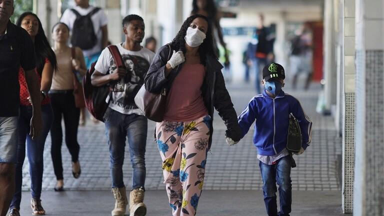 البرازيل تدخل مرحلة حرجة بسبب كورونا اثر تسجيل اكثر من 31 ألف وفاة و اصابات تجاوزت 555 ألف
